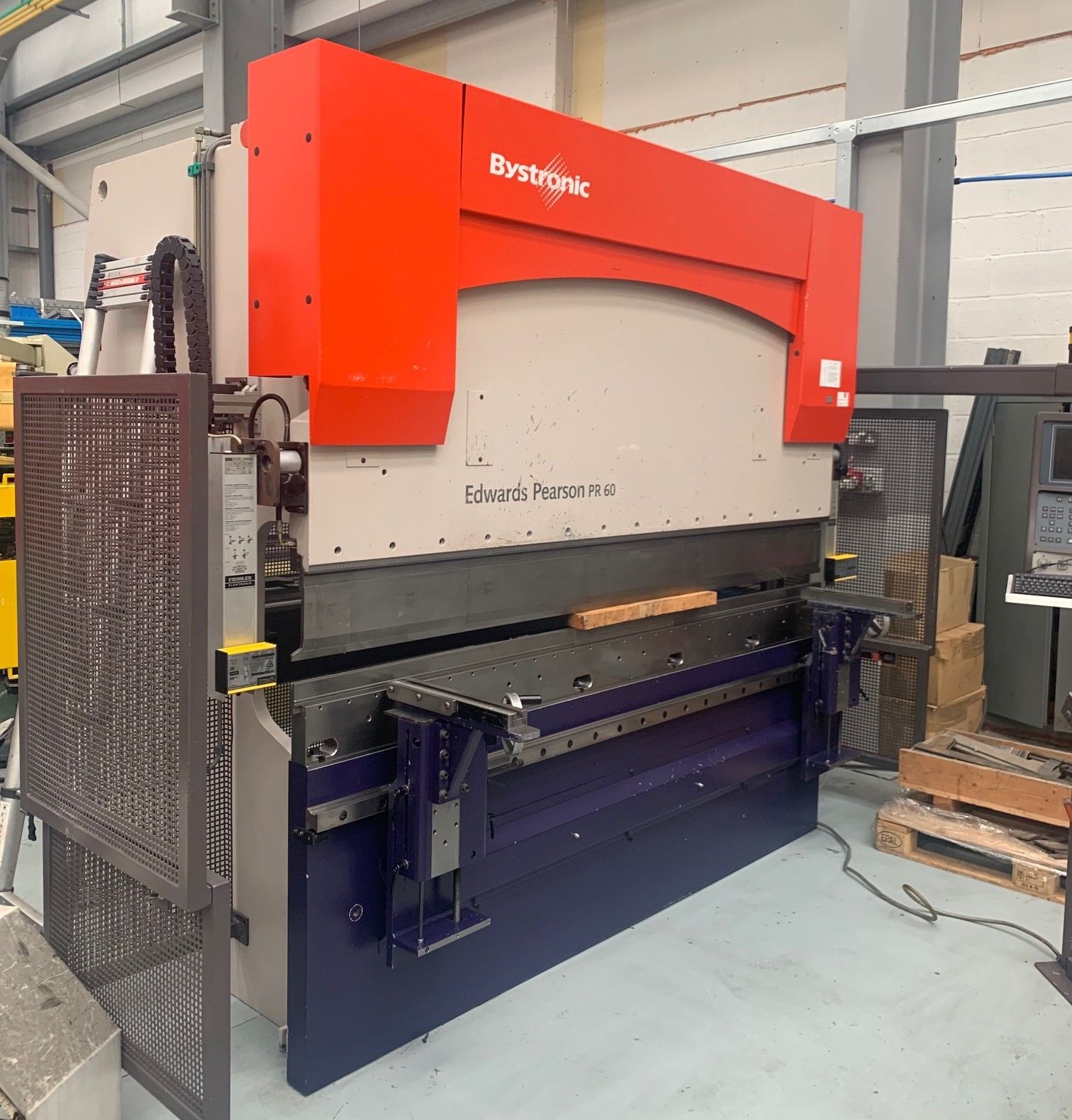 Bystronic  PR6   60 ton x 2500mm CNC press brake