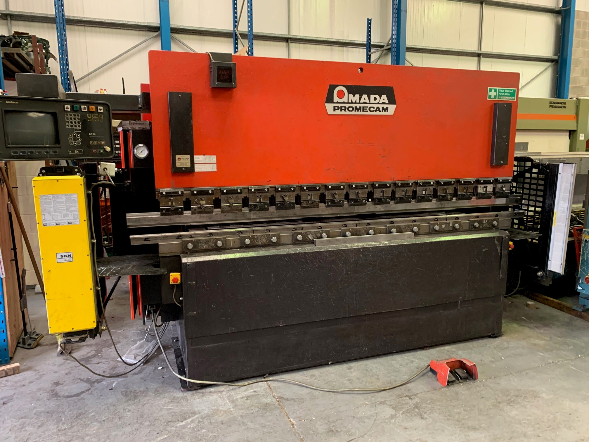 AMADA ITS 3m x 100 Ton 2 axis CNC press brake