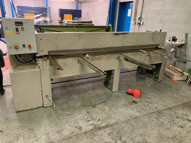 MORGAN SC 4mm x 2500mm Mechanical Guillotine